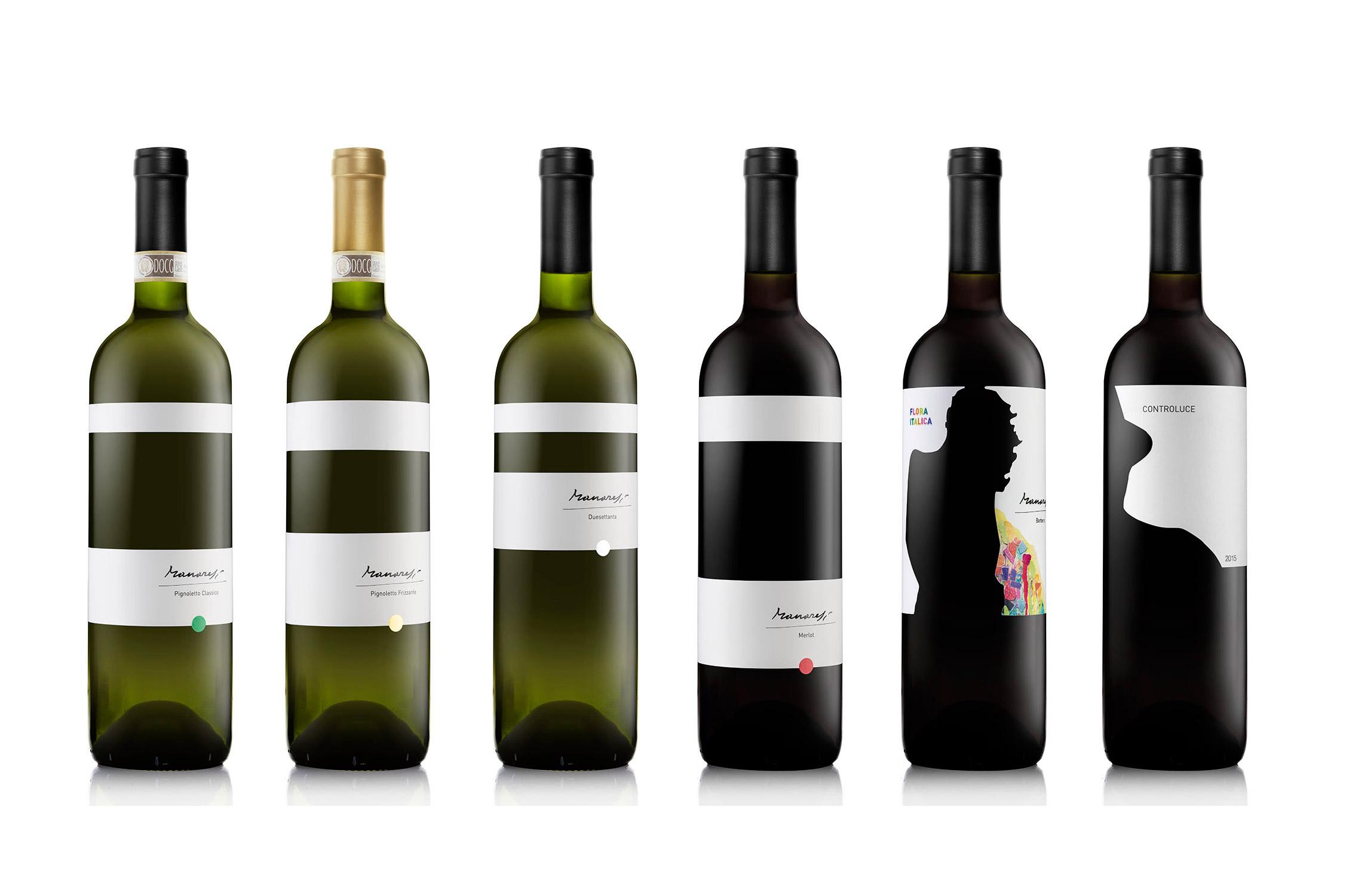 Panoramica delle nostre bottiglie
